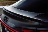 2021 Audi e-tron S Sportback prototype-rear spoiler