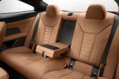 2021 BMW 4 Series back seats