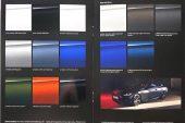 2021 BMW 4 Series revealed brochure - colour options
