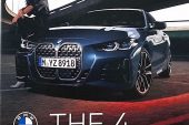 2021 BMW 4 Series revealed brochure - front