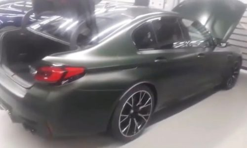 BMW M5 CS spotted, confirms hardcore track-ready variant (video)