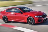 2021 BMW M5 Competition-driving