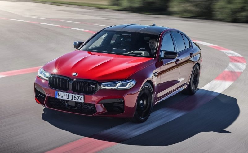 2021 BMW M5 Competition-hero 1