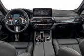 2021 BMW M5 Competition-interior
