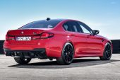 2021 BMW M5 Competition-rear