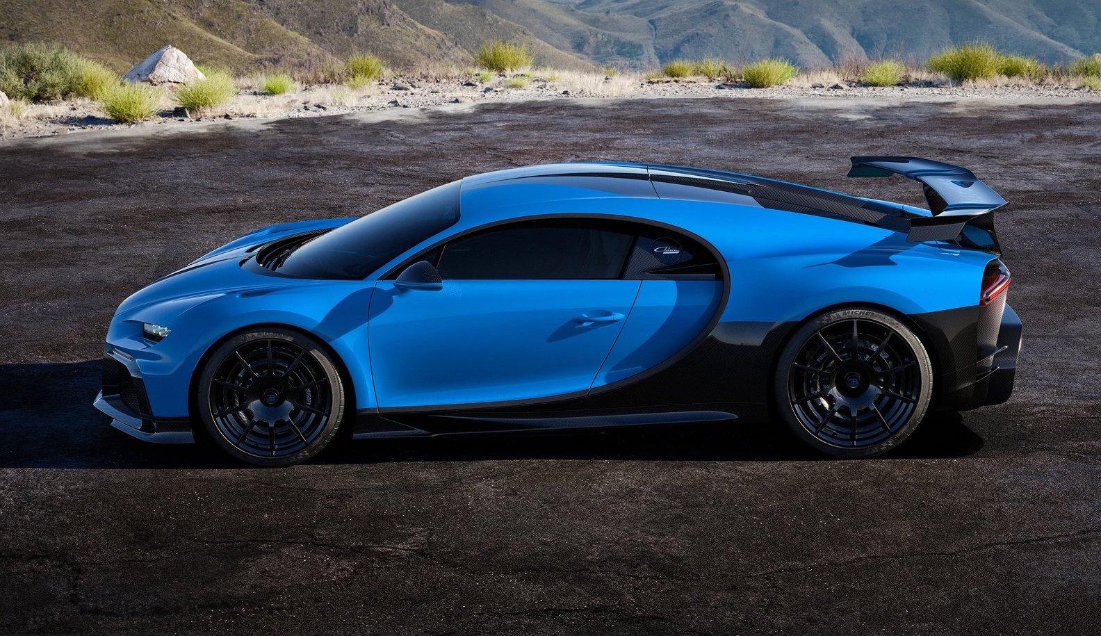 Bugatti Chiron Pur Sport Spotted Testing At Nurburgring Epic Speed Video Performancedrive