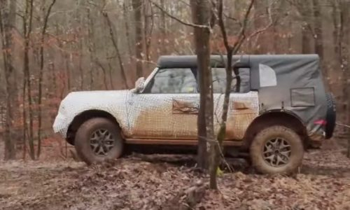 2021 Ford Bronco teaser shows hardcore 'front dig' feature (video)