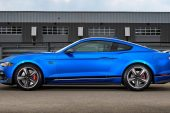 2021 Ford Mustang Mach 1-blue side