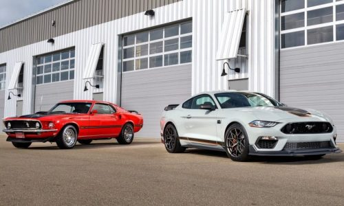 2021 Ford Mustang Mach 1 revealed, revives iconic name