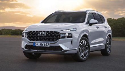 2021 Hyundai Santa Fe-headlights