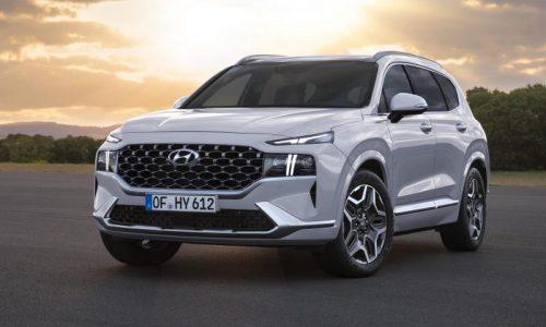 New-look 2021 Hyundai Santa Fe revealed