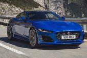 2021 Jaguar F-Type blue - 2