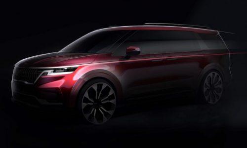 2021 Kia Carnival teaser previews impressive new design