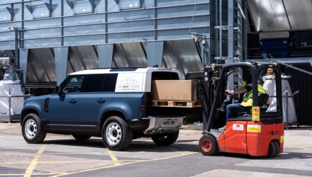 Land Rover Defender Hard Top returns as commercial workhorse variant