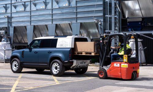Land Rover Defender Hard Top returns as commercial workhorse variant