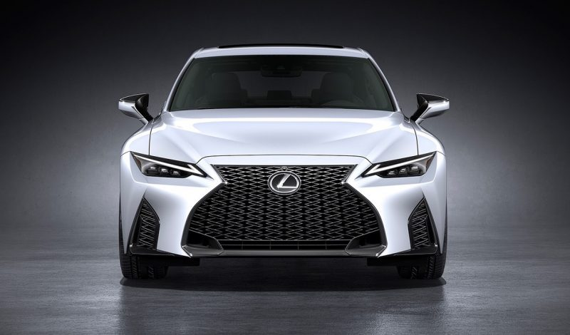 2021 Lexus IS sedan officially unveiled, F Sport looks hot ...