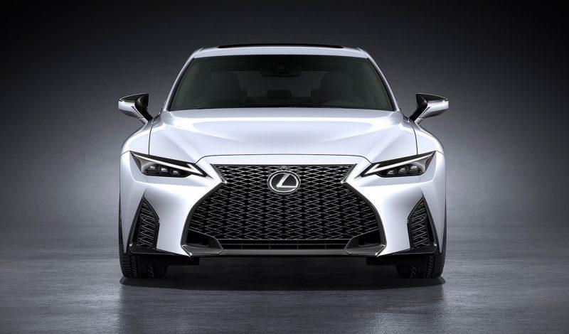 2021 lexus is sedan officially unveiled f sport looks hot