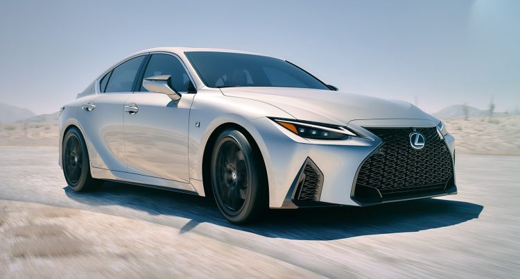 2021 lexus is sedan officially unveiled f sport looks hot