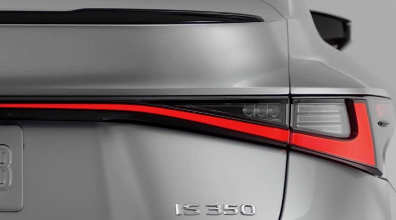 2021 Lexus IS debuts June 16, new teasers show big changes