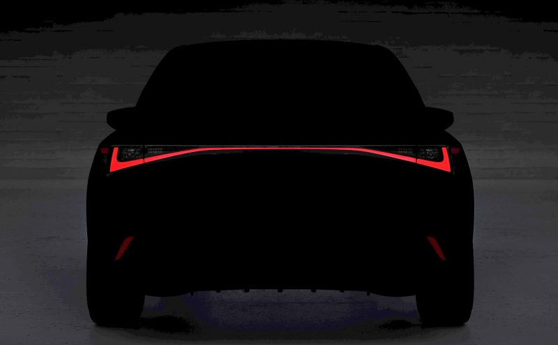 2021 Lexus IS sedan taillights-preview-1