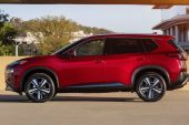 2021 Nissan X-Trail side