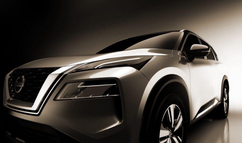 2021 Nissan X-Trail teaser - headlights
