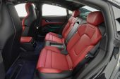 2021 Porsche Taycan Turbo S rear seats-Australia