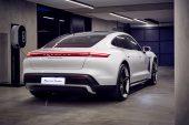 2021 Porsche Taycan Turbo charging-Australia