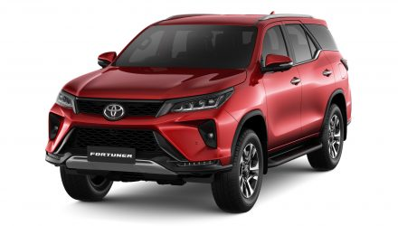 2021 Toyota Fortuner gets sharpened design, more power