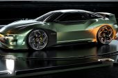 2024 Mitsubishi 4000GT rendering Matthew Parsons-green