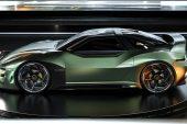 2024 Mitsubishi 4000GT rendering Matthew Parsons-green side