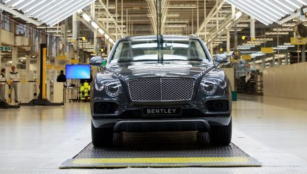 Bentley Bentayga production surpasses 20,000 milestone