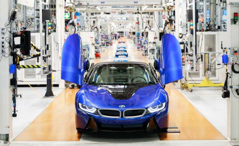 Final 2020 BMW i8 Roadster Portimao Blue-Leipzig