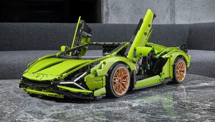 Lego Technic announces Lamborghini Sian FKP 37 build set