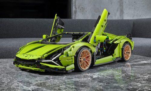 Lego Technic announces Lamborghini Sian FKP 37 build set