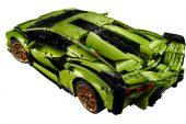 Lego Technic Lamborghini Sian FKP 37 - rear