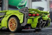 Lego Technic Lamborghini Sian FKP 37 - rear wing