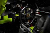 Lego Technic Lamborghini Sian FKP 37 - steering wheel
