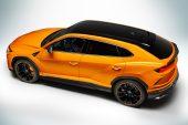 MY2021 Lamborghini Urus Pearl Capsule-Arancio Borealis-rear