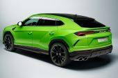 MY2021 Lamborghini Urus Pearl Capsule - Verde Mantis rear