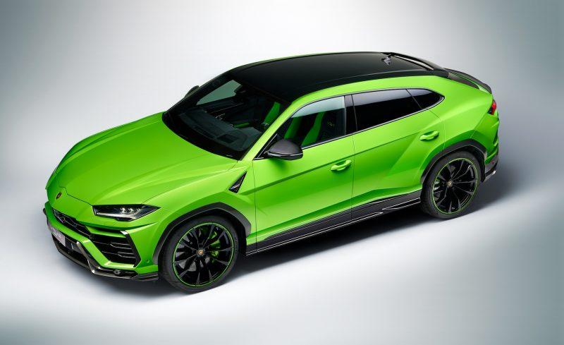 MY2021 Lamborghini Urus Pearl Capsule - Verde Mantis top