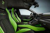 MY2021 Lamborghini Urus Pearl Capsule - interior Verde Mantis
