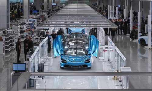 UK auto manufacturing down 95% in May, worst since 1946