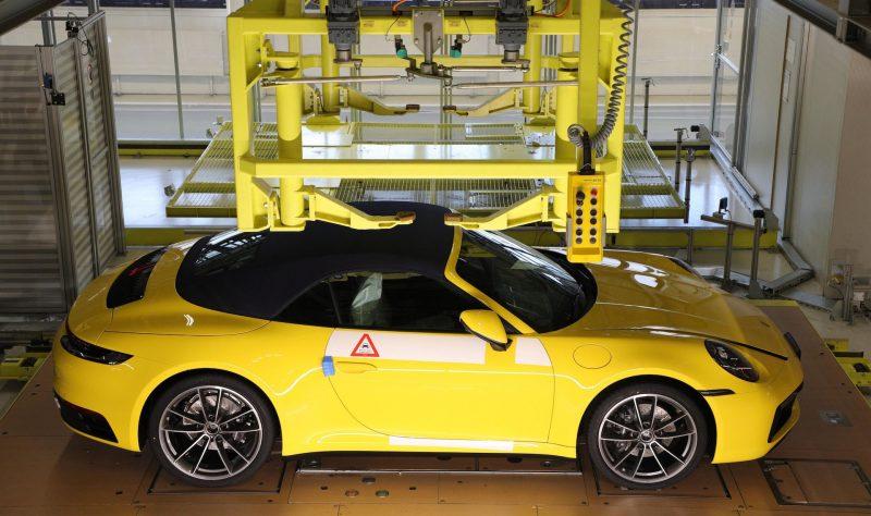 Porsche 911 production Track Your Dream via My Porsche platform