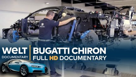 Video: WELT Documentary has in-depth look at Bugatti Chiron production