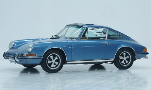 For Sale: Original 1972 Porsche 911E 2.4, owned by 99yo enthusiast