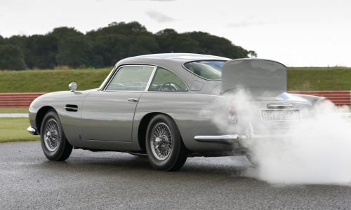 Video: Aston Martin shows off first DB5 Goldfinger Continuation