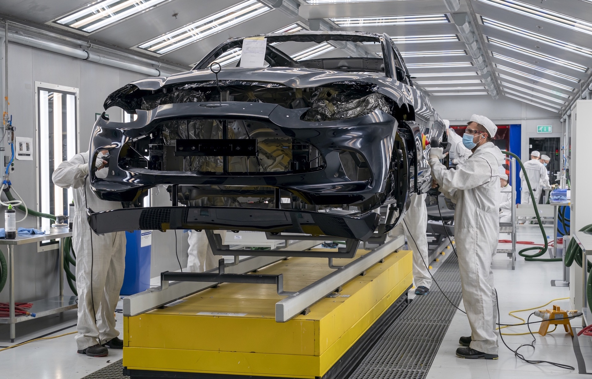 Aston Martin DBX production commences in Wales