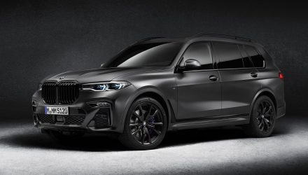 BMW reveals sinister X7 Dark Shadow special edition