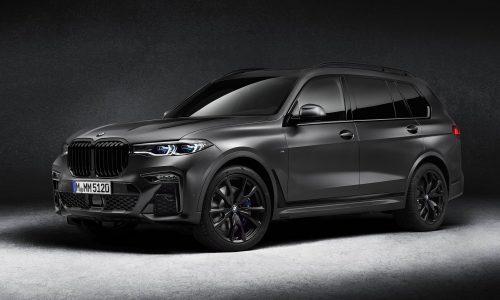 BMW reveals sinister X7 Dark Shadow special edition